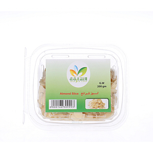 Sharjah Coop Almond Slice 200gm