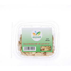Sharjah Coop Almond Skinless Half 200gm