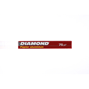 Diamond Aluminium Foil 75Sqft
