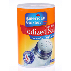 American Garden Iodized Salt 26Oz