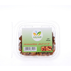 Sharjah Coop Almond Whole USA 250gm