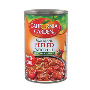 California Garden Pelled Foul Medammas with Chili 450gm