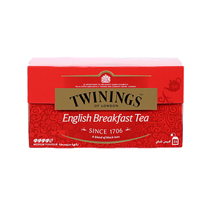 Twinings Goldline Tea Bag English Breakfast 25'S