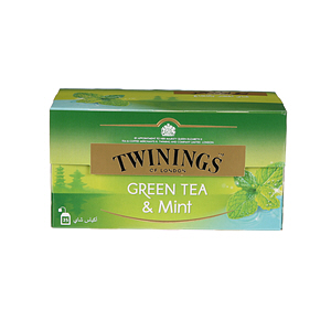 Twinings Goldline Green Tea 25'S Mint
