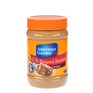 American Garden Peanut Butter Smooth 18Oz