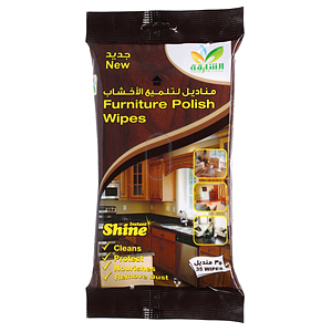 Sharjah Coop Furniture Polish Wipes 35'S
