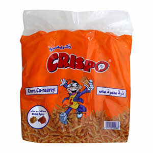 Crispo Corn Hot & Spicy 14 x 35Gm