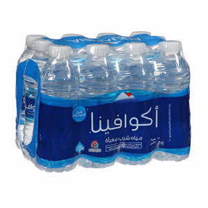 Aquafina Botteled Drinking Water 12 x  330Ml