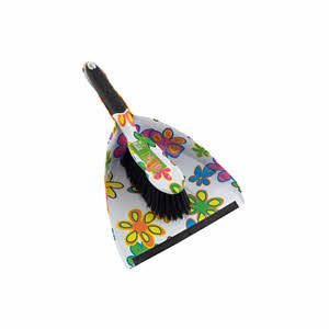 Sweet Home Dust Pan With Brush