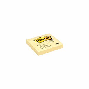 "Post It Notes Yallow 3""X3"" 100Sheet"