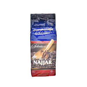 Najjar Cafe Selction Arbic Noroml 450gm