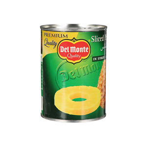 Del Monte Sliced Pineapple In Syrup 567gm