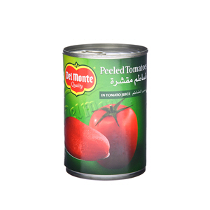 Del Monte Pealed Tomatoes In Juice 400gm