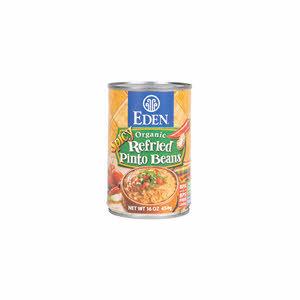 Eden Organic Refried Spicy Pinto Beans 425gm