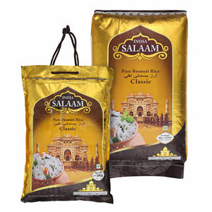 India Salaam Indian Classic Basmati Rice 20Kg+5Kg