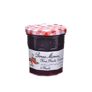 Bonne Maman 4 Fruits Jam 370gm