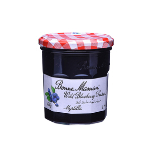 Bonne Maman Wild Blueberry Rasberry Jam 370gm