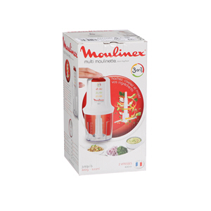 Moulinex Multi Moulinette Mini Chopper White 500 ml