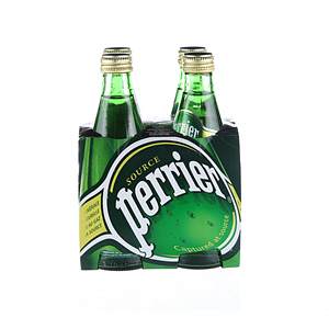 Perrier Water Regular 330ml × 4'S