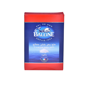 La Baleine Coarse Sea Salt 1kg