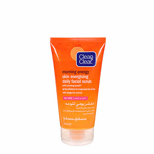 Clean & Clear Skin Energy Daily Face Scrub 150Ml