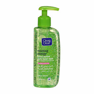 Clean & Clear Shine Control Daily Facial Wash 150Ml