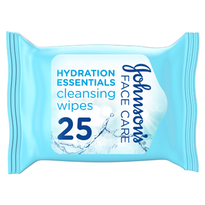 Johnson's Face Care Hydration Essentials 25Wipes