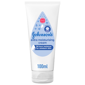 Johnson & Johnson Extra Moisturising Baby Cream 100ml