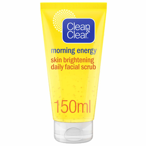 Clean & Clear Skin Brightening Daily Facial Scrub 150Ml