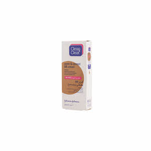 Clean & Clear BB Cream Cover & Correct, Medium 50ml