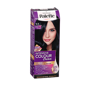 Palette Intensive Hair Color Cream Blue Black 1-1