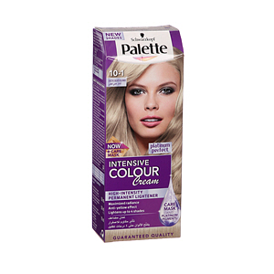 Palette Intensive Hair Color Cream Arctic Silver Blonde 10-1