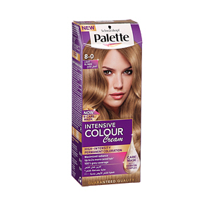 Palette Intensive Hair Color Cream Light Blonde 8-0
