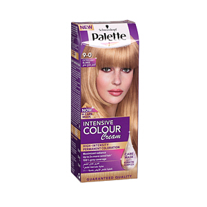 Palette Hair Color Cream & Care Mask Extra Light Blonde 9-0