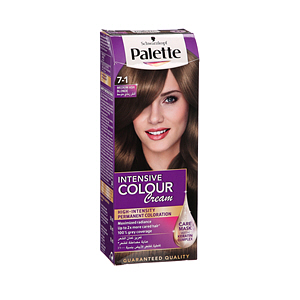 Palette Intensive Hair Color Cream Medium Ash Blonde 7-1