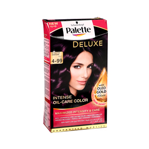 Palette Delux Intense Oil Care Color Attractive Aubergine 4-99