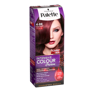 Palette Intensive Hair Color Cream Dark Red 4-88