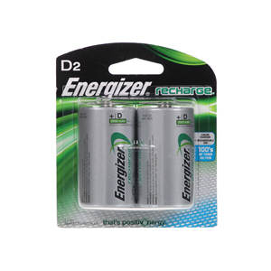 Energizer Rechargeable Battery D2