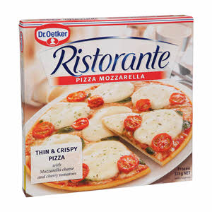 Dr Oetker Pizza Mozzarella 335gm