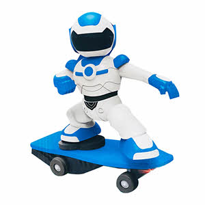 Toon Toys R/C Robot Scooter 2.4G