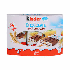 Kinder Chocolate Cereals 211.5Gm