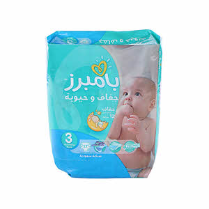 Pampers Baby Dry Size.3 Carry Pack 6×17'S