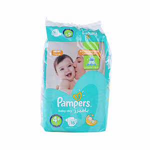 Pampers Baby Dry Pack Junior 15'S