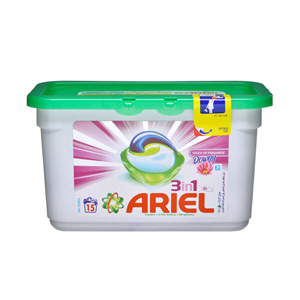 Ariel 3 in 1 PODS Washing Capsules with Downy 15 × 28.8gm