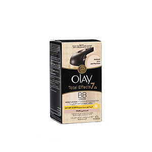 Olay Total Effects Moisturising Cream + Touch Of Foundation 50ml
