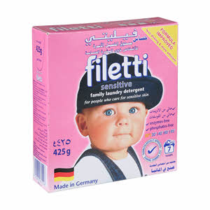 Filetti Compact Soft Detergent 500Gm