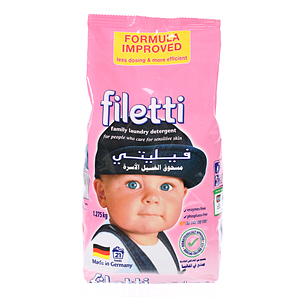 Filetti Compact Soft Detergent 1.5Kg