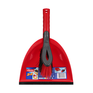 Vileda 2 In 1 Short Handle Dustpan