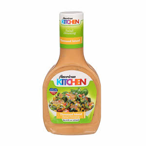 American Kitchen Salad Dressing Thaousand Island 16Oz