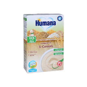 Humana Cereals 5 Plain 200gm